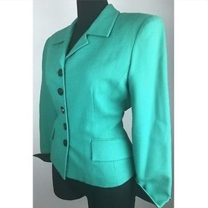 CHRISTIAN DIOR Women Blazer Jacket Vintage Wool 10